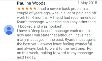 Deep Tissue Massage Belfast